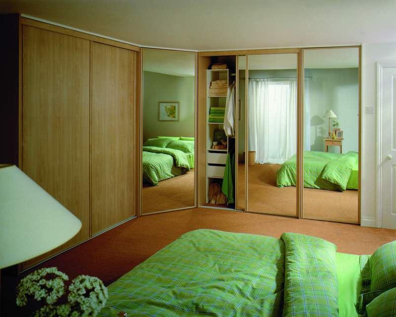 Дизайн шкафа купе угловой для спальни дизайн